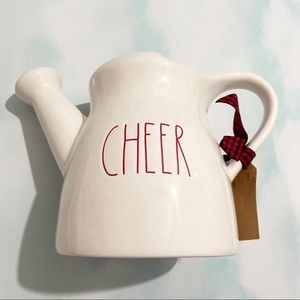 RAE DUNN Cheer Artisan Collection Watering Can